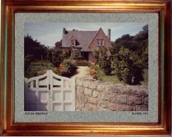 France, l'île de Bréhat 1992 sur le site d'ARTactif
