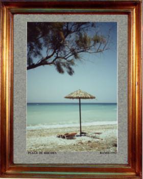 Grèce, une plage de Rhodes 1993 sur le site d'ARTactif