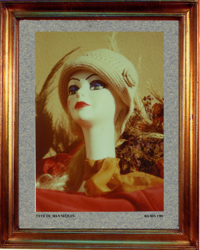 1981 Tête mannequin. sur le site d'ARTactif