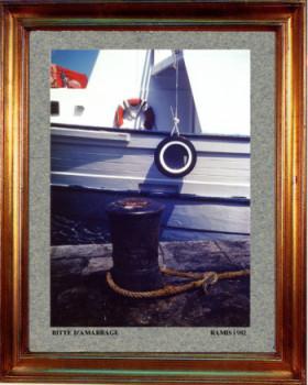 1982 Bitte d'amarrage sur le site d'ARTactif