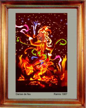 1987 Danse de feu sur le site d'ARTactif