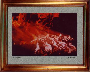 1988 Baille de fuego sur le site d'ARTactif