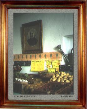 1999 Etal  de légumes sur le site d'ARTactif
