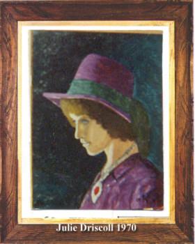 Julie Driscoll 1970 sur le site d'ARTactif