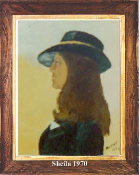 Portrait de Sheila 1970 sur le site d'ARTactif