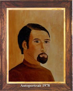 Autoportrait 1978 sur le site d'ARTactif