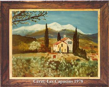 Le couvent des Capucins de Céret 1978 sur le site d'ARTactif