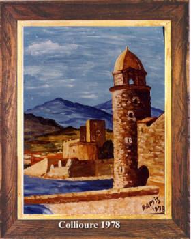 Collioure 1978 sur le site d'ARTactif