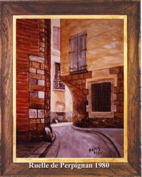 Perpignan, rue Nabot 1980 sur le site d'ARTactif