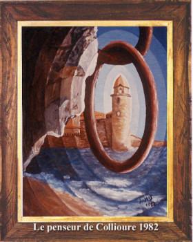 Le penseur de Collioure 1982 sur le site d'ARTactif