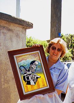 Le berger catalan 1991 Présenté par Aleida Guevara sur le site d'ARTactif