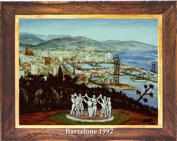 Barcelone 1992 sur le site d'ARTactif