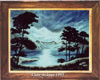 Clair de lune 1993 sur le site d'ARTactif