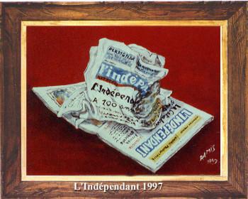 Journal L'Indépendant 1997 sur le site d'ARTactif