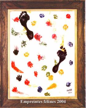 Empreintes félines 2004 sur le site d'ARTactif