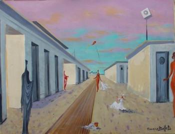 La Petite fille au Cerf Volant (Trouville) sur le site d'ARTactif