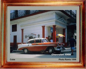 Cuba 1998 Chevrolet 1958 sur le site d'ARTactif