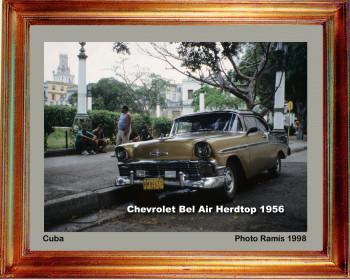 Cuba 1998 Chevrolet Belair 1956 sur le site d'ARTactif
