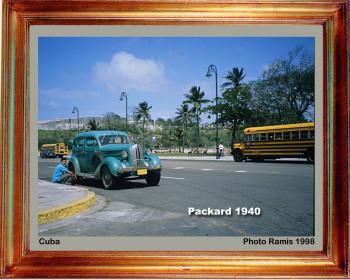 Cuba 1998 Packard 1940 sur le site d'ARTactif