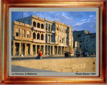 Cuba 1998 Edifices du Malecon sur le site d'ARTactif