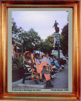Cuba 1998 Fraternité sur le site d'ARTactif