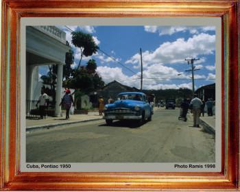 Cuba 1998 Pontiac 1950 sur le site d'ARTactif