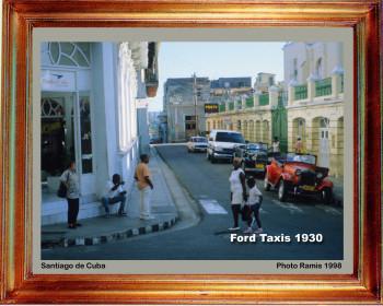Cuba 1998 Taxis de 1930 sur le site d'ARTactif