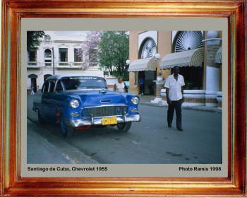 Cuba 1998 Chevrolet 1953 sur le site d'ARTactif