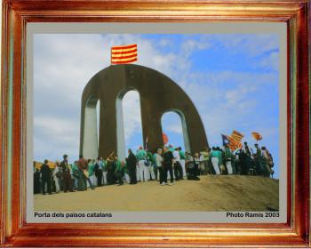 2003 Porta dels Països catalans sur le site d'ARTactif