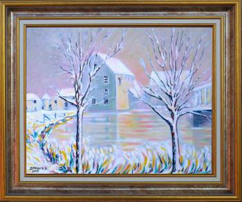 Effet de neige sur le site d'ARTactif