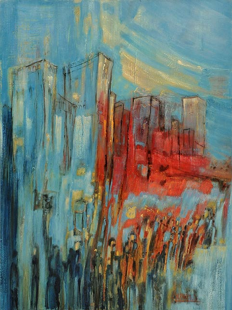 Azul y rojo sur le site d'ARTactif