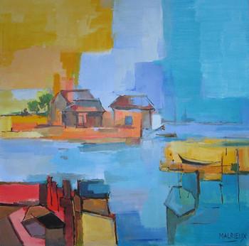 Les cabanes de l'ile sur le site d'ARTactif