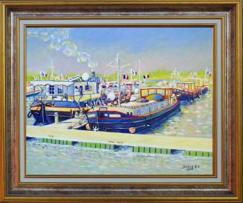 Port royal 1 Auxonne sur le site d'ARTactif