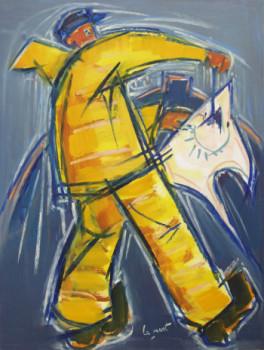 Pêcheur à la raie sur le site d'ARTactif