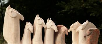 SCULPTURES CHEVAUX BRUT sur le site d'ARTactif