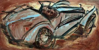 Bugatti, oeuvre réalisée en 1963 sur le site d'ARTactif