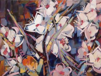 Fleurs de prunus sur le site d'ARTactif