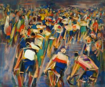 Le Tour de France sur les quais à Paimpol - 1996 sur le site d'ARTactif