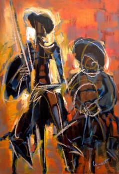 Don Quichotte et Sancho Pansa sur le site d'ARTactif