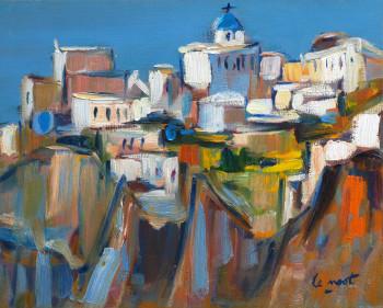 Oia à Santorin sur le site d'ARTactif