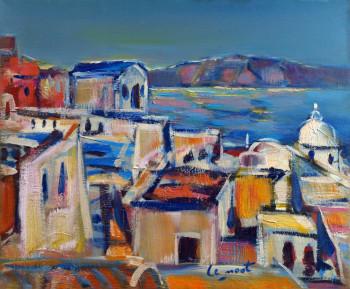 Thyra à Santorin sur le site d'ARTactif