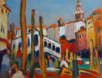 Le pont du Rialto sur le site d'ARTactif