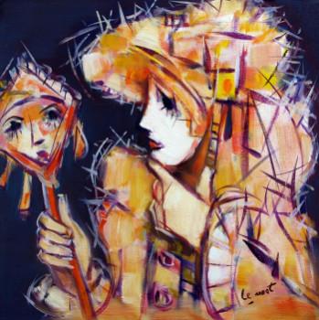 Masque au miroir sur le site d'ARTactif