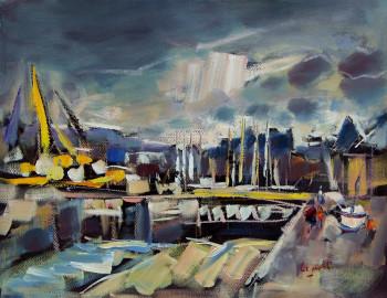 Port de Paimpol - Les écluses sur le site d'ARTactif