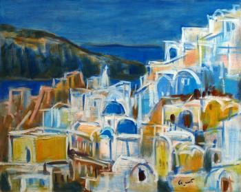 Oia, les couleurs de Santorin sur le site d'ARTactif