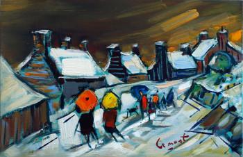 Neige à Pors Even sur le site d'ARTactif