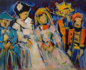 Les enfants déguisés sur le site d'ARTactif