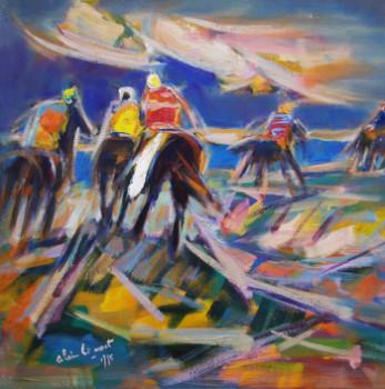 Chevauchée vers la mer - 1995 sur le site d'ARTactif