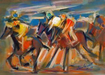 Course de chevaux - 1995 sur le site d'ARTactif