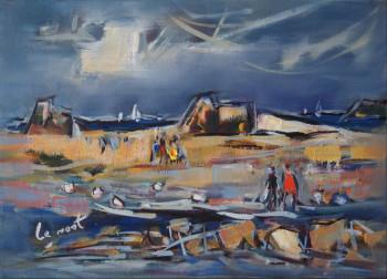 Basse mer dans le Jaudy sur le site d'ARTactif